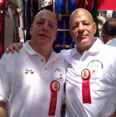 Brothers at St. Agrippina Feast