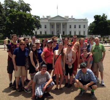 Students at the White House