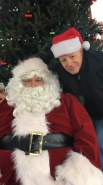 Santa on the Oval